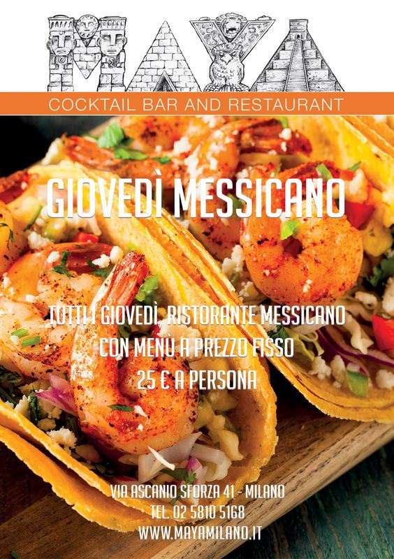 maya ristorante messicano milano